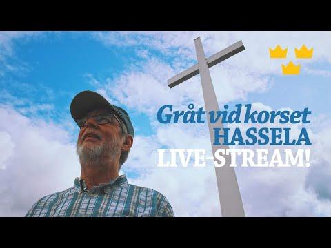 LIVE! GRÅT VID KORSET: Samlingen vid korset i Hassela, Del 5