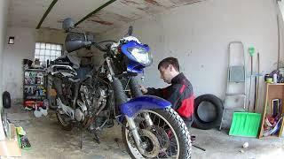Montáž motoru na Alpíka ve smyčce...