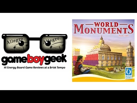 The Game Boy Geek's Allegro (2-min) Review of World Monuments