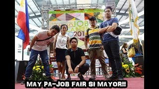 MAY PA JOB FAIR SI MAYOR! (DLSU D Animo Job & Career Expo 2017)