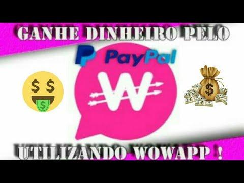 Wowapp Como Ganhar Dinheiro no Paypal
