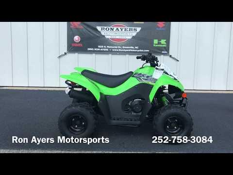 2019 Kawasaki KFX 50 in Greenville, North Carolina