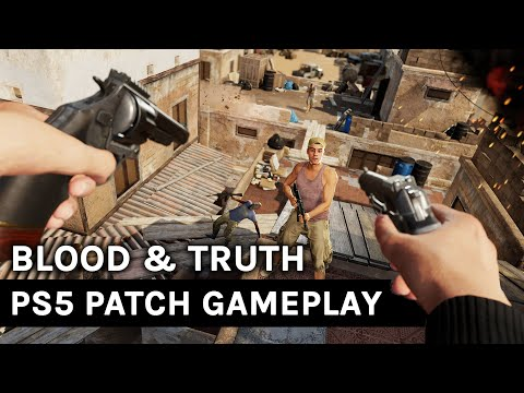 PSVR-Exclusive Blood & Truth Now Runs At 4K, 90FPS On PS5