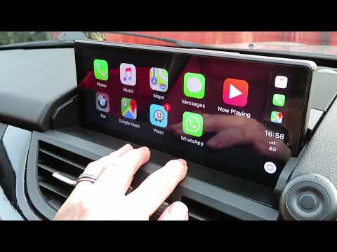 BMW E89 Z4 Android Screen - Apple Carplay and Android Auto Add-On