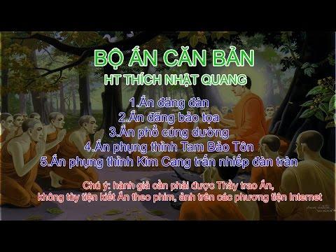 Mật tông căn bản - HT Thích Nhật Quang - Bộ Ấn căn bản
