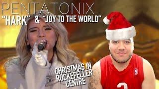 Pentatonix - Hark  & Joy to The World (Christmas in Rockefeller Center 2015) REACTION!!!