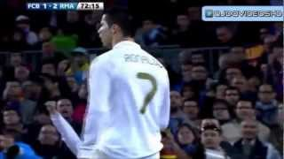 preview picture of video 'Gol Cristiano y celebración camp Nou 21/04/2012'
