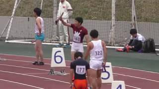 2016.4.2第49回東京六大学対校男子4×100mR決勝
