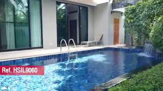 Quiet and Private Two Bedroom Pool Villa in Nai Harn's Premium Estate