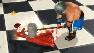 Battle chess : Defeat the queen
