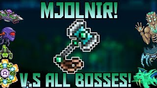 Mjölnir V.S All Bosses in Expert Mode! ||Thorium Mod Expert Mode||