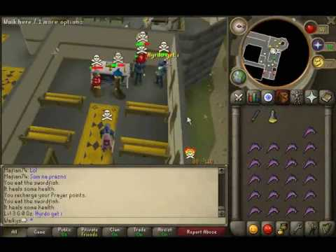 Runescape  Free PVP Vid 1 - Waikys -  scimmy+2h