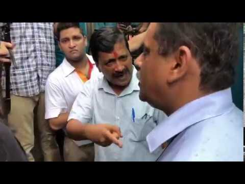 Delhi CM Arvind Kejriwal was shocked seeing the Cleanliness at Transit Circuit at Anand Parbat