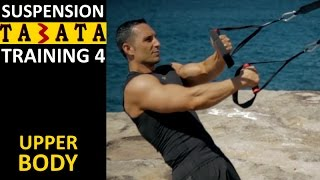 Tabata Suspension Training Workout - Upper Body by Coach Ali