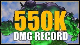 INSANE 550K DMG the WORLD RECORD || World of Warships