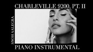 Snoh Aalegra | Charleville 9200, Pt. II (Piano Instrumental)