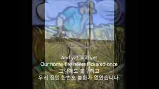 Mama Sang A Song/Bill Anderson(한국어자막) 삼척문종규