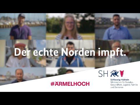 Schleswig-Holsteiner:innen zur Corona-Schutzimpfung