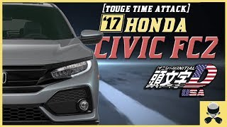 ⏱ TOUGE TIME ATTACK — FWD Lap Record (FC 2017 Honda Civic FC, not Si)