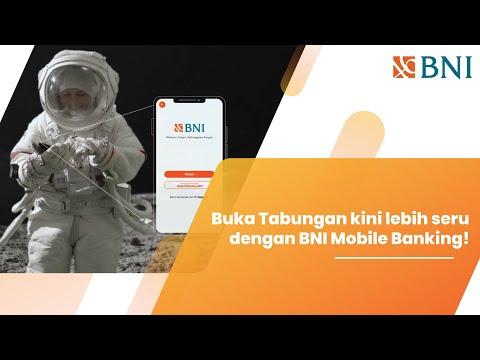 Buka tabungan lebih seru dengan BNI Mobile Banking!