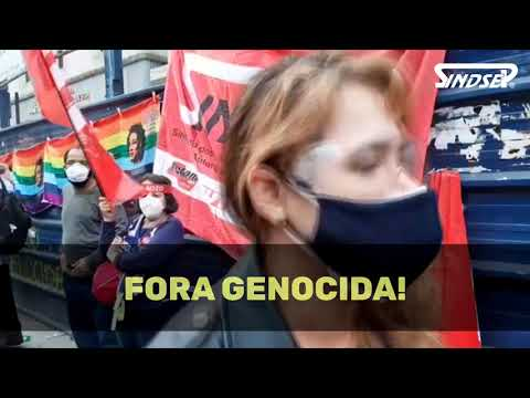 Sindsep esteve presente no grande ato Fora Bolsonaro