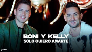Video Solo Quiero Amarte de Boni y Kelly feat. BNK