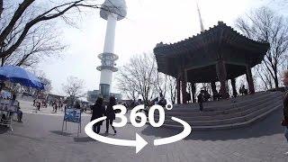 Seoul N Tower 360, мультяшная улица