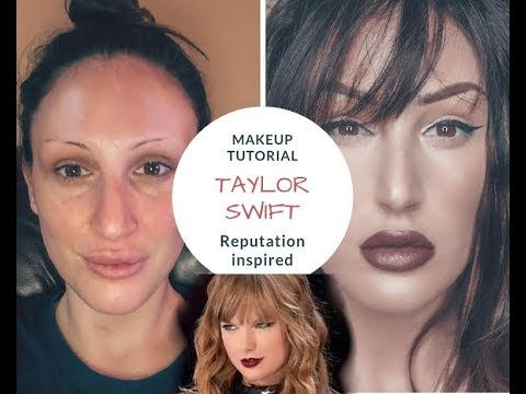 TAYLOR SWIFT REPUTATION INSPIRED MAKEUP TUTORIAL