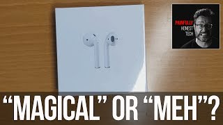 Apple Airpods Bluetooth Headphones Review
