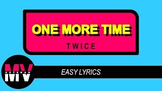 Twice   One More Time [easy Lyrics] Japanese Version