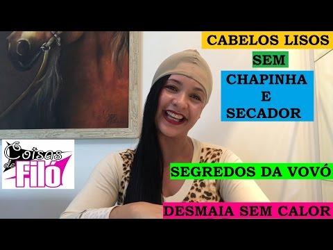 CABELO LISO SEM CHAPINHA E SECADOR!!! 2 SEGREDOS DA VOVÓ!!!1 INGREDIENTE + 1 TRUQUE!!!