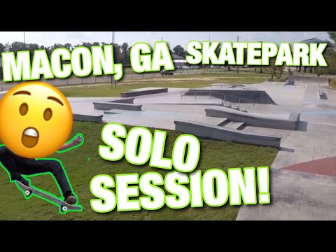 Macon, GA Skatepark Solo Session!!