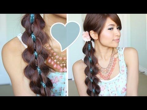 Crochet Braids Yahoo Answers : Loop Braid Hair Tutorial Braided Hairstyle Bebexo Rachael Edwards