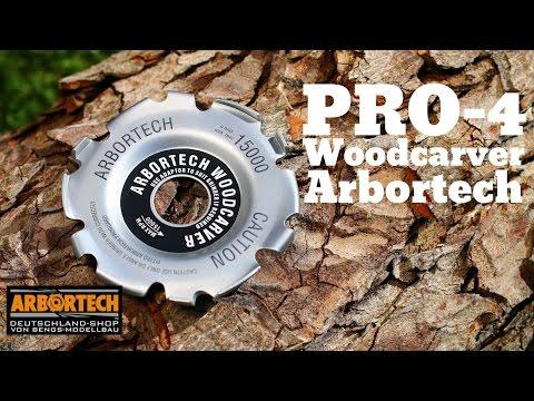 Pro-4 Woodcarver von Arbortech Schnitzen, Nuten fräsen, Freihand modelieren
