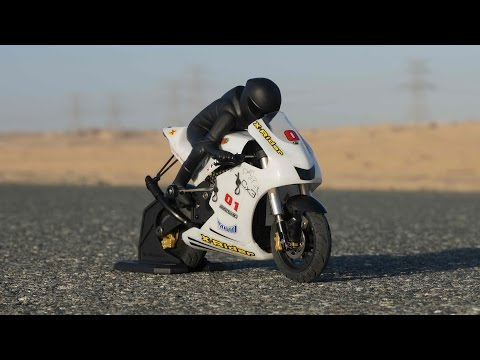 X-Rider CX3 RC Motorcycle Indoor Review with Ride Teaser