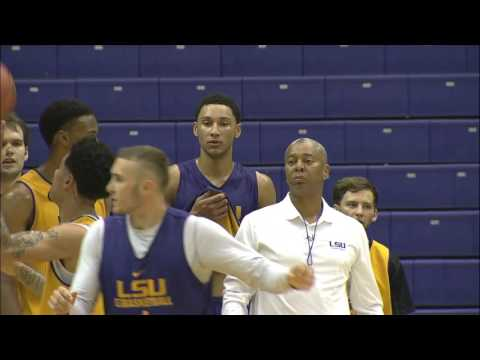 NCAA Basketball 2015. LSU Open Practice  13.10.15
