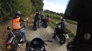 preview picture of video 'Balade moto Chateau Gontier (07/09/2013)'
