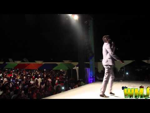 Beenie Man at Marcus Mosiah Garvey IRIE FM 2015