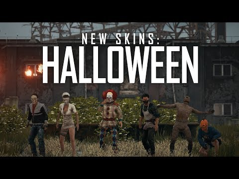 Tenues d'Halloween de PlayerUnknown's Battlegrounds