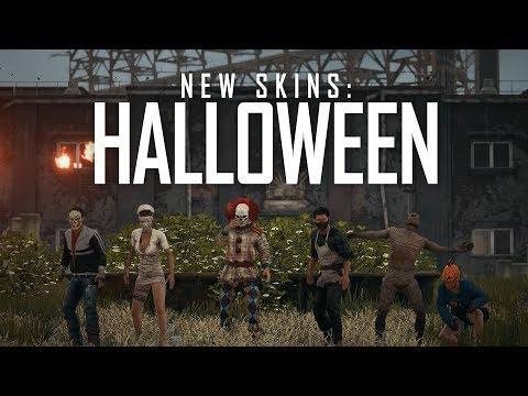 PlayerUnknown's Battlegrounds - New Halloween Skins