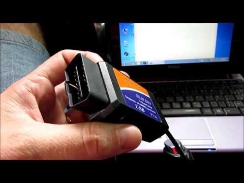 Scanner USB ELM 327 - Testando no Vectra