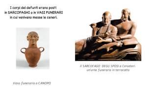 Gli Etruschi: dove, quando, organizzazione, attività, culura