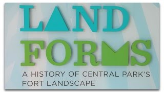 "Spaeth Design - ""Landforms Exhibit"" at the Central Park Conservancy"