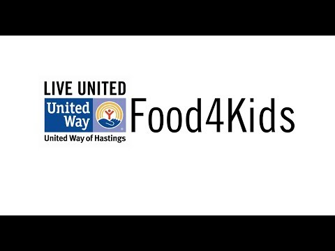 Childhood hunger is real in Hastings!  UWH Food 4 Kids fills that need.  Learn more about this awesome program by watching this quick video.