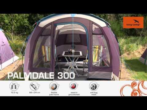Смотреть видео Палатка Easy Camp Palmdale 300