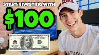 How To Start Investing With $100 | Stock Market For Beginners