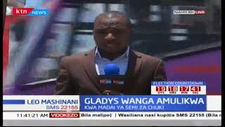 Gladys Wanga on the spot after alleged hate speech utterances against President Uhuru