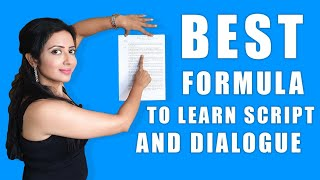 How to learn Script & Dialogue for ACTING | Dialogue Delivery, Expression, Memory