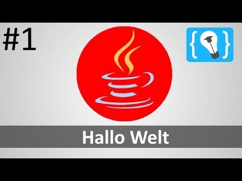Java Tutorial Deutsch (German) [1/24] - Hallo Welt