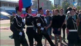 В Великом Новгороде стартовали военно-полевые сборы